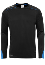 Uhlsport Torwartshirt Tower schwarz/blau