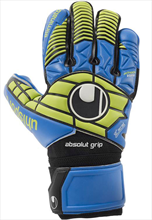 Uhlsport Torwarthandschuhe Eliminator Absolutgrip HN blau/gelb