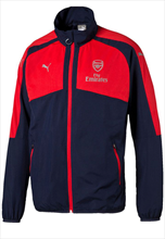 Puma FC Arsenal Performance Trainingsjacke dunkelblau/rot