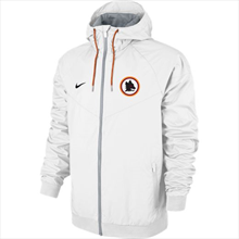 Nike AS Roma Fanjacke Authentic Windrunner weiß/schwarz