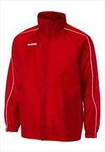 Errea Basic Rain Jacket red