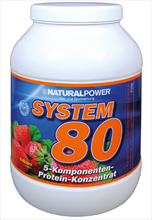 Natural power protein system 80 met 750 g