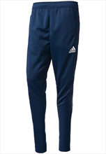 adidas Tiro 17 Training Pants dark blue/white