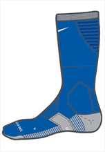 Nike Socken Team Matchfit Cushion Crew Sock blau/weiß
