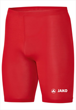 Jako functionele short Tight Basic 2.0 rood/wit