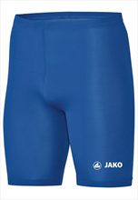 Jako functionele short Tight Basic 2.0 blauw/wit