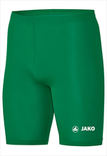 Jako functionele short Tight Basic 2.0 groen/wit