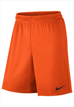 Nike Short Park II Knit mit Innenslip orange/schwarz