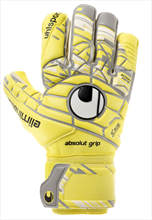 Uhlsport Torwarthandschuhe Eliminator Absolutgrip HN gelb/grau