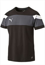 Puma Trainingsshirt Spirit II Training Jersey schwarz/weiß