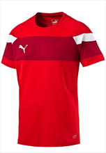 Puma Trainingsshirt Spirit II Training Jersey rot/weiß