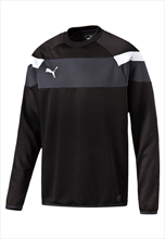 Puma trainingstrui Spirit II Training Sweat zwart/wit