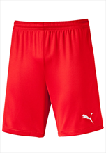Puma short Velize rood/wit