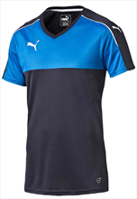 Puma Shirt Accuracy Shortsleeved donkerblauw/blauw