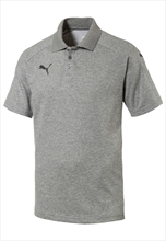 Puma Shirt Ascension Casuals Polo grijs/zwart