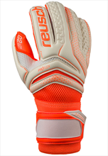 Reusch Torwarthandschuhe Serathor Pro G2 Ultra Soft Evolution orange fluo/weiß