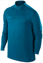 Nike Trainings Top Squad Dril Top blau/türkisblau