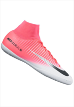 Nike Hallenschuh MercurialX Victory VI Dynamic Fit IC pink fluo/weiß