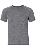 Odlo Shirt Sleeve Crew neck Revolution light grau