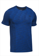 Under Armour Shirt Threadborne SS nahtlos dunkelblau/schwarz