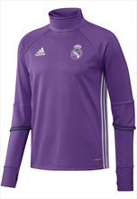adidas Real Madrid Trainingsoberteil violett/weiß