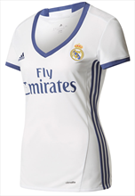 Adidas Real Madrid dames thuisshirt 2016/17 wit/paars