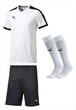 Puma tenue pitch wit/zwart