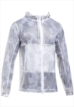 Under Armour Jacke Windbreaker Courtside Pursuit weiß/grau