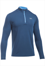 Under Armour Trainings Top Threadborne Streaker 1/4 Zip dunkelblau/grau