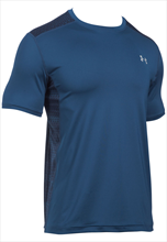 Under Armour Shirt Raid SS Tee dunkelblau/grau