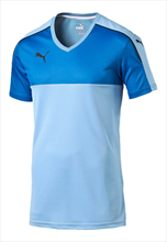 Puma Shirt Accuracy Shortsleeved lichtblauw/blauw