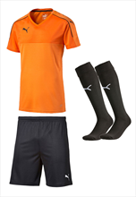 Puma Dressenset Accuracy orange/schwarz