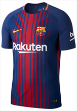 Nike FC Barcelona Heim Trikot Authentic 2017/18 blau/rot