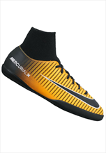 Nike Kinder Hallenschuh JR MercurialX Victory VI Dynamic Fit IC orange fluo/schwarz