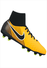 Nike Kinder Fußballschuh JR Magista Onda II Dynamic Fit FG orange fluo/schwarz
