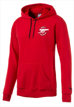 Puma FC Arsenal Hoody Graphic rood/wit
