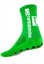 TapeDesign nogavice Anti Slip socks TD zeleno/bele