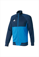 adidas Kinder Trainingsjacke Tiro 17 Training Jacket dunkelblau/hellblau