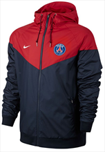 Nike Paris St. Germain Fanjacke Authentic Windrunner dunkelblau/rot