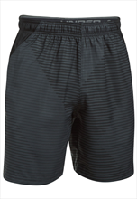 Under Armour Short Challenger Woven schwarz/grün