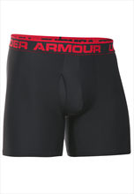 Under Armour Boxershort 2er Pack schwarz/rot