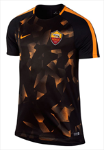 Nike AS Roma Trainingsshirt Squad Top schwarz/orange