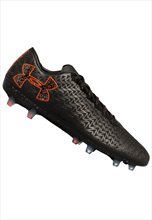 Under Armour Fußballschuh ClutchFit Force 3.0 FG schwarz/orange