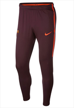 Nike FC Barcelona Trainingshose Squad Pant dunkelrot/orange