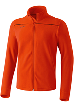 Erima Basic Fleecejacke orange/schwarz