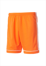 adidas Kinder Short Squadra 17 orange/weiß