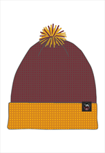 Nike AS Roma Mütze Beanie dunkelrot/orange