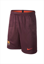 Nike FC Barcelona Kinder Champions League Short 2017/18 dunkelrot/orange