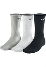 Nike Socken Cotton Cushion 3er Pack schwarz/weiß/grau