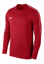 Nike Trainingsoberteil Park 18 Drill Top Crew rot/weiß